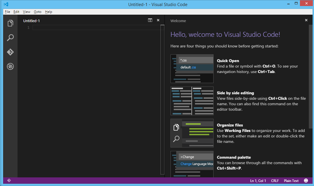 First Hours with Visual Studio Code on Mac and Windows | Tugberk