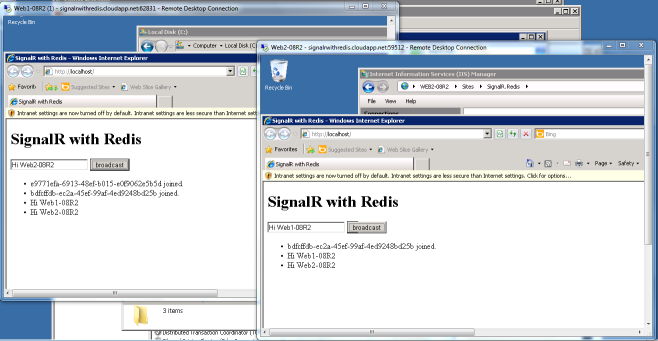 SingalR-with-Redis-Running-on-a-Windows-Azure-Virtual-Machine