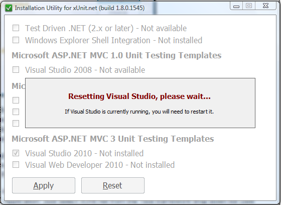 Unit Testing With xUnit net for ASP NET MVC Web Applications