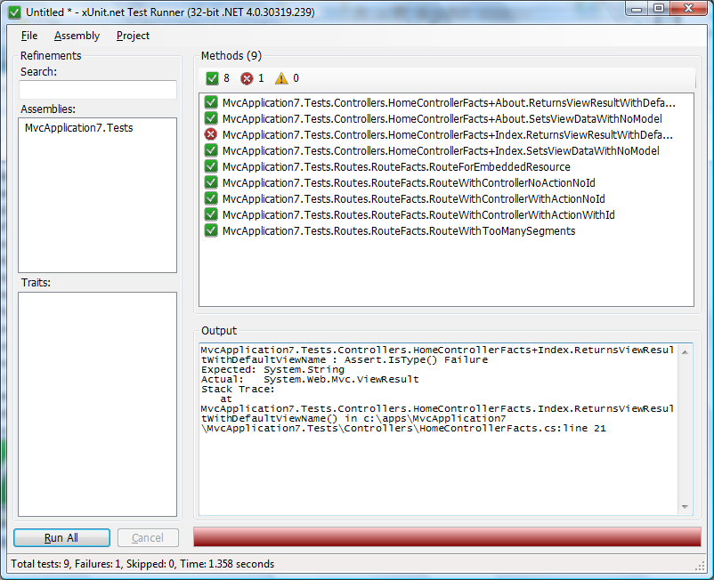 Unit Testing With xUnit net for ASP NET MVC Web Applications - Part