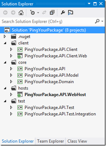 Pro ASP NET Web API's Sample Project (PingYourPackage