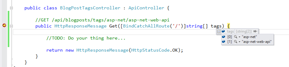 ASP NET Web API Catch-All Route Parameter Binding   Tugberk