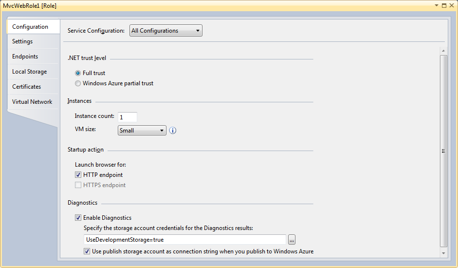 How to Use Windows Azure Blob Storage Service With ASP NET MVC Web