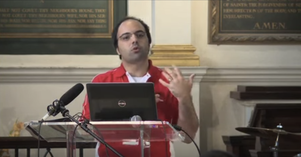 Tugberk Ugurlu @ Umbraco UK Festival, London - 2015